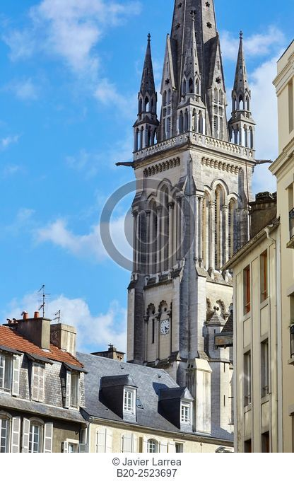Saint Martin churh, Pau, Pyrenees - Atlantiques, Aquitaine, France