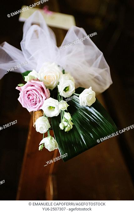 Flowers for wedding decoration