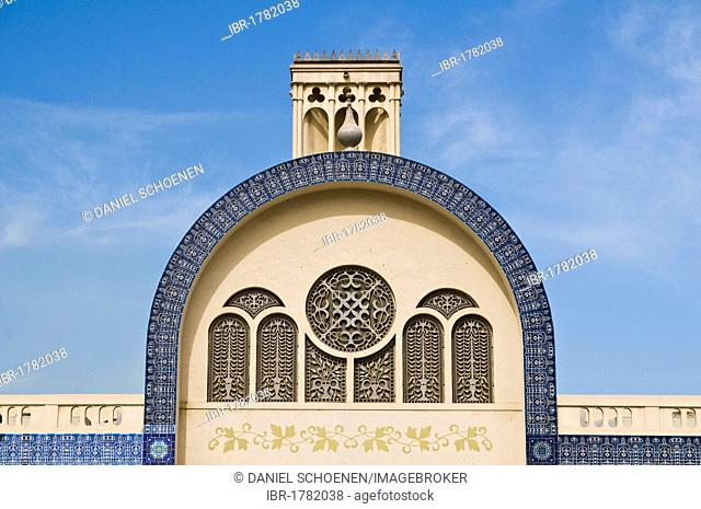 Historic district of Sharjah City, Emirate of Sharjah, United Arab Emirates, Middle East, Southwest Asia