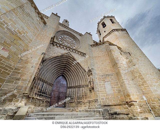 Santa Maria La Mayor church, Valderrobres, Matarraña, Teruel province, Spain