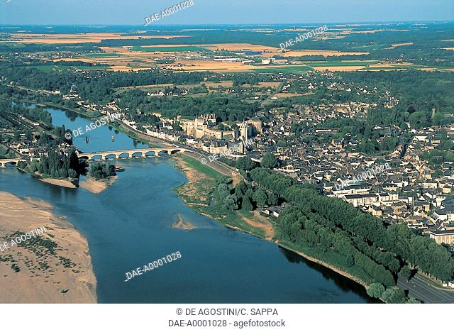 France - Centre - Amboise. Loire River
