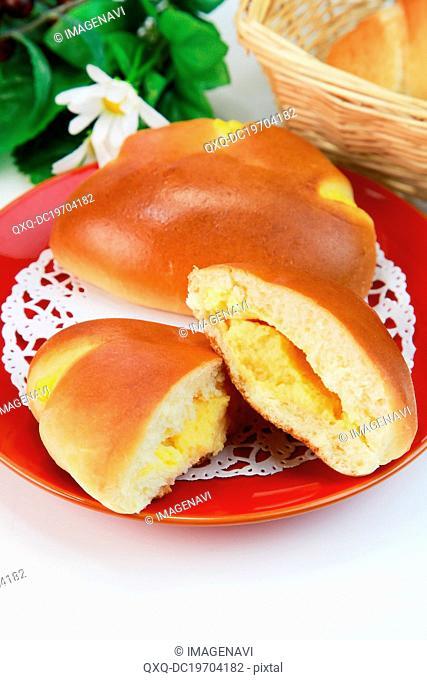 Cream Filled Bread
