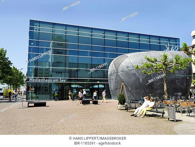 The media house K42 in Friedrichshafen at Lake Constance, Baden-Wuerttemberg, Germany, Europe
