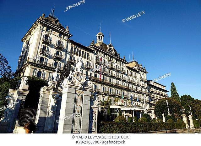 Grand Hotel des Iles Borromees, Stresa, Lake Maggiore, Piedmont, Italy