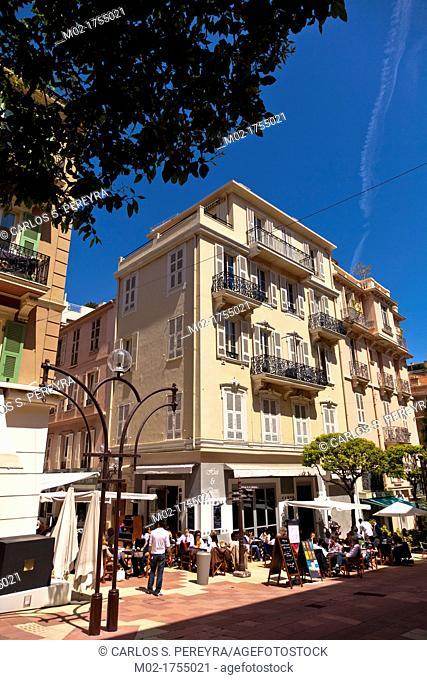 La Condamine district, Principality of Monaco, Europe