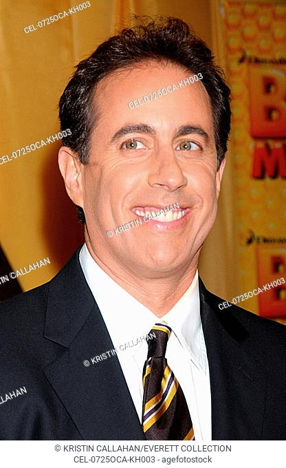 Jerry Seinfeld at arrivals for BEE MOVIE Premiere, AMC Loews Lincoln Square 13 Cinema, New York, NY, October 25, 2007. Photo by: Kristin Callahan/Everett...
