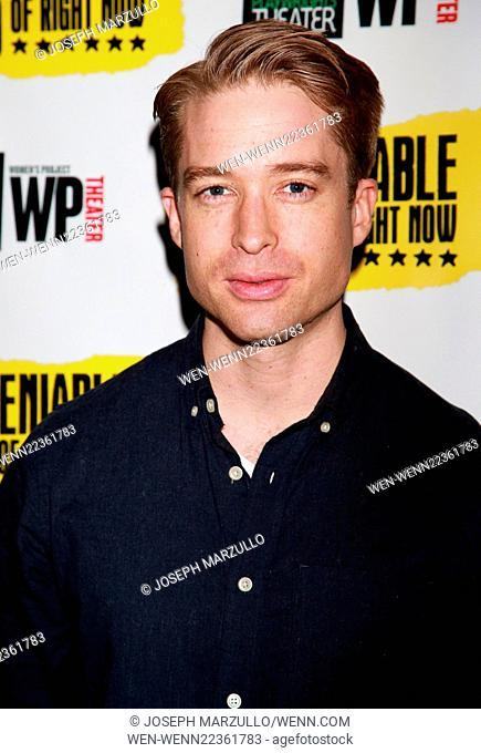Opening night of The Undeniable Sound of Right Now at the Rattlestick Theater - Arrivals. Featuring: Daniel Abeles Where: New York City, New York