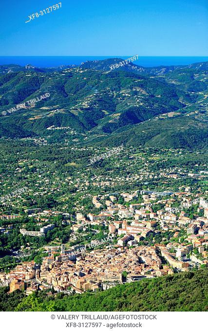 Grasse, Prealpes d'Azur, 06, Alpes-Maritimes, Cote d'azur, PACA,