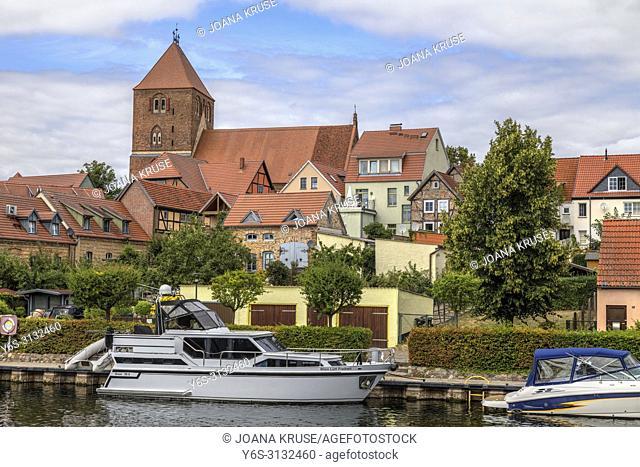 Plau am See, Mecklenburg-Vorpommern, Germany, Europe