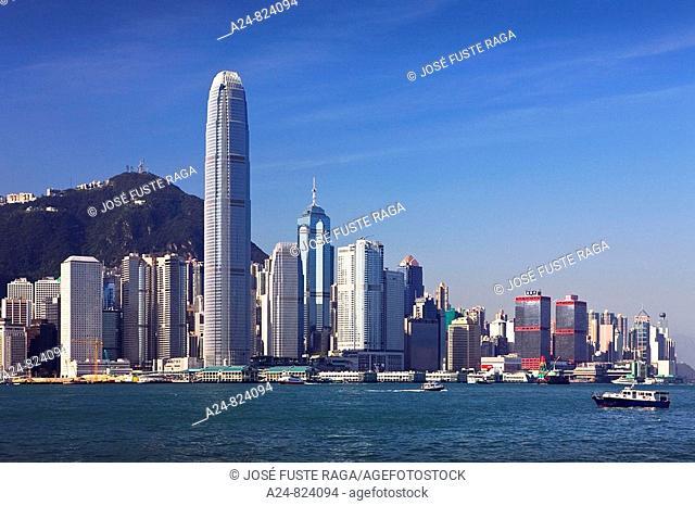 Two International Finance Center Building, Central District, Hong Kong, China (November 2008)