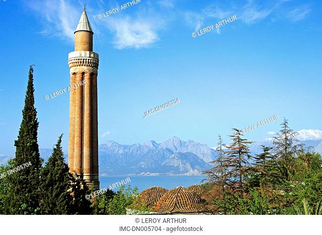 Turkey, Antalya, minaret