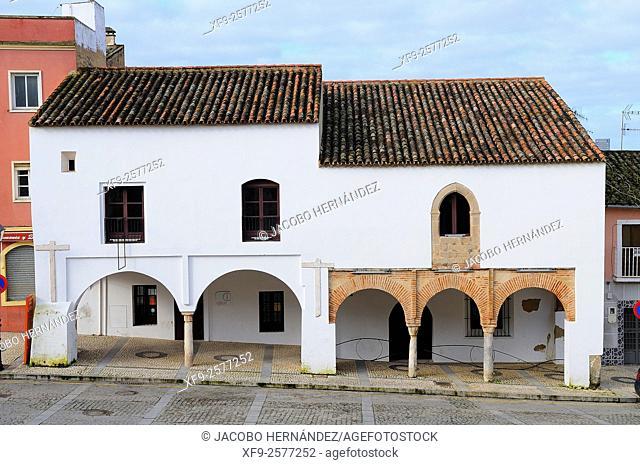 Casas Mudéjares.Badajoz.Extremadura.Spain