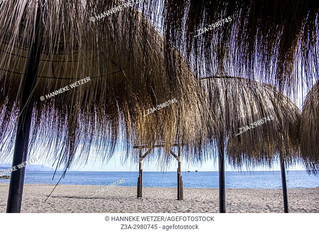 Malaga beach, Spain, Europe