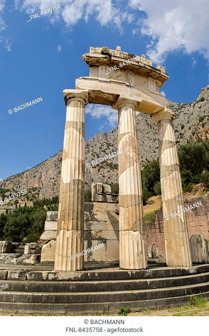 Tholos, Delphi, Greece, Europe