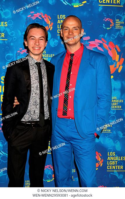 Los Angeles LGBT Center 47th Anniversary Gala Vanguard Awards at the Pacific Design Center on September 24, 2016 in West Hollywood, CA Featuring: Hayden Byerly