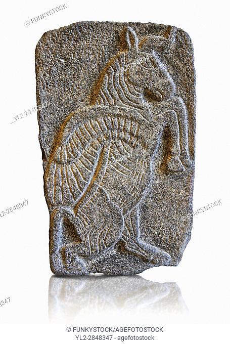 9th century BC stone Neo-Hittite/ Aramaean Orthostats from Palace Temple of the Aramaean city of Tell Halaf in northeastern Syria close to the Turkish border