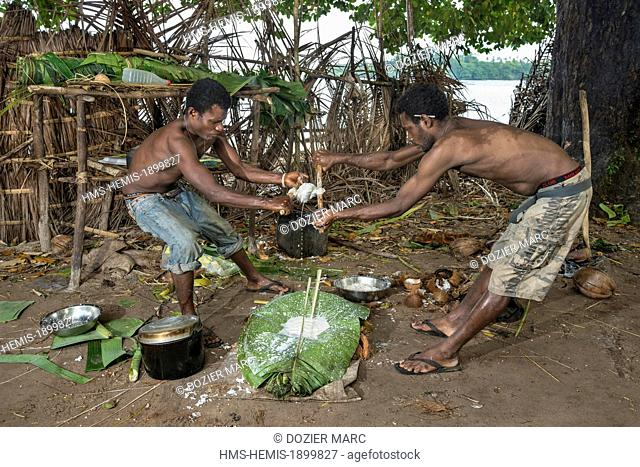 Papua New Guinea, Bismarck Archipelago, Gazelle peninsula, New Britain island, East New Britain province, Rabaul, Duke of York Archipelago, Mualim island