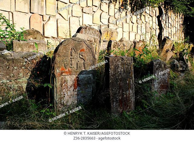 Jewish cemetery, Kazimierz, Poland