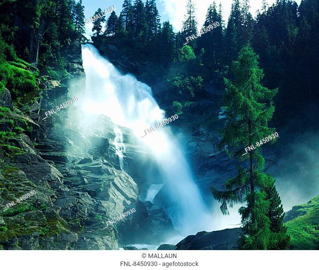 Krimml Waterfalls, Salzburg State, Austria