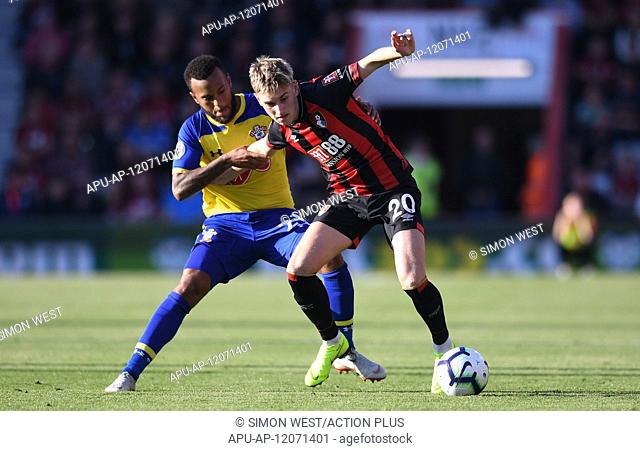 2018 EPL Premier League Football Bournemouth v Southampton Oct 20th. 20th October 2018, Vitality Stadium, Bournemouth, England; EPL Premier League football