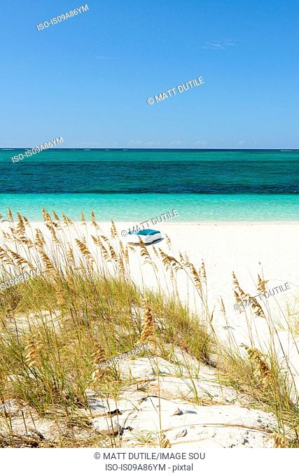 Beach, Grace Bay, Providenciales, Turks and Caicos, Caribbean