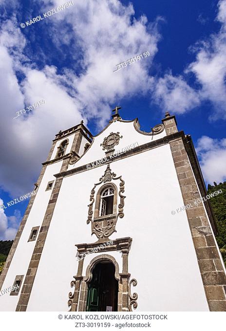 Church of Santa Ana, Furnas, Sao Miguel Island, Azores, Portugal