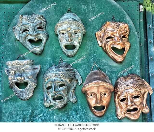 Athens, Theater Masks