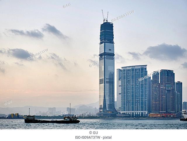Cityscape, Tsim Sha Tsui, Hong Kong