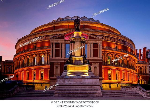 The Royal Albert Hall, Kensington, London, England
