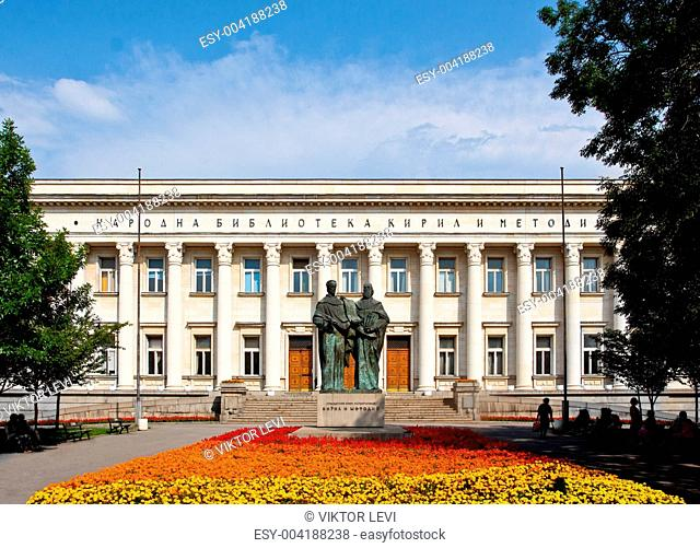St. St. Cyril and Methodius National Library, Sofia