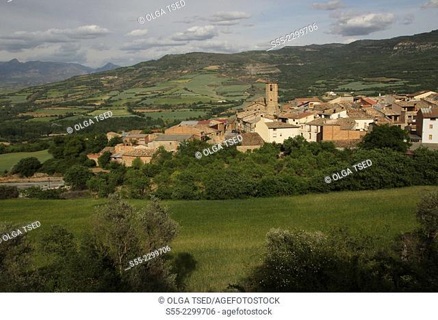 Guardia de Noguera village, Pallars Jussà, Lleida province, Catalonia, Spain