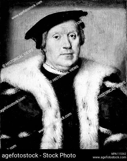 Jean d'Albon de Saint-André (1472-1549). Artist: Attributed to Corneille de Lyon (Netherlandish, The Hague, active by 1533-died 1575 Lyons); Medium: Oil on...