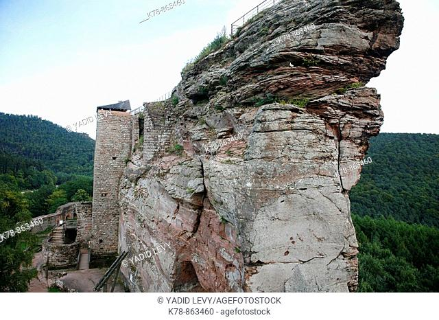 Sep 2008 - Fleckenstein Castle, Alsace, France