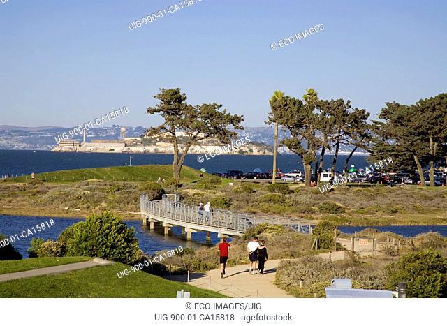 Chrissy Field, Presidio, San Francisco, California, USA