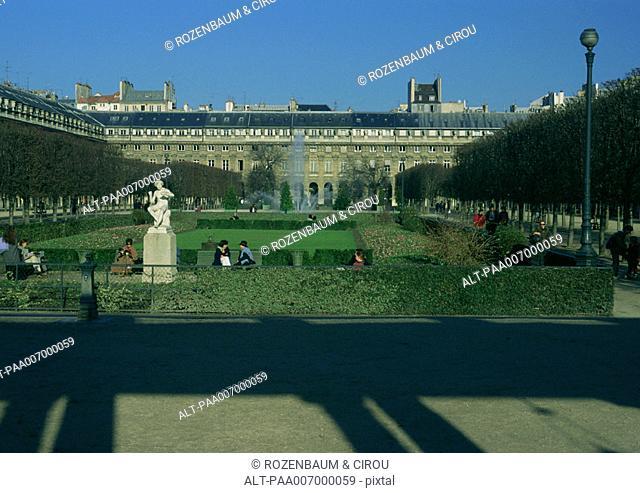 France, Paris, Palais Royal