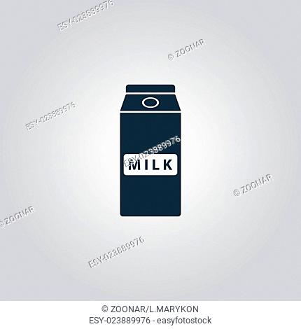 pack of milk icon