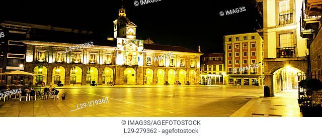 Aviles City Hall. Asturias. Spain