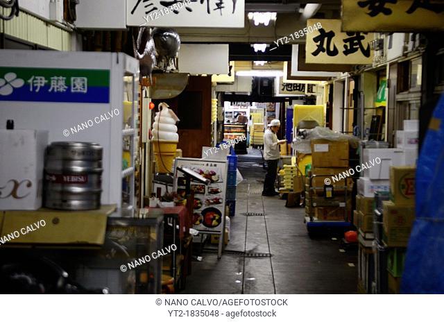 Tsukiji Outer Market, known as the Jogai Shijo, Tokyo