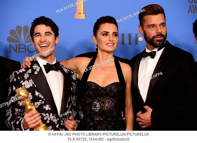 """After winning the Golden Globe for BEST TELEVISION LIMITED SERIES OR MOTION PICTURE MADE FOR TELEVISION for """"""""The Assassination of Gianni Versace: American..."""