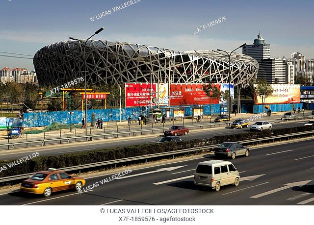 National Olympic Stadium, by Herzog and Meuron,Beijing, China