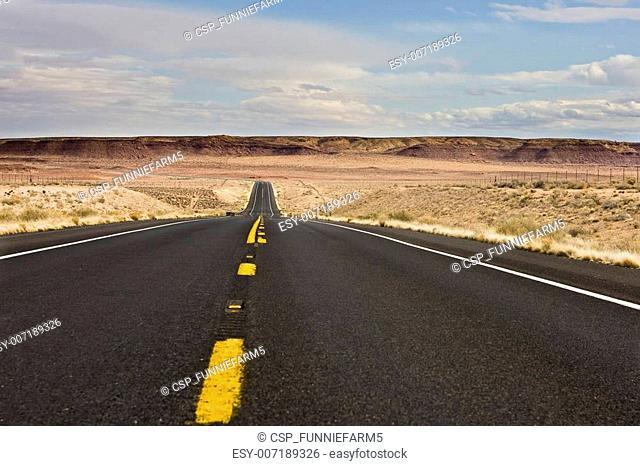 Arizona desert highway