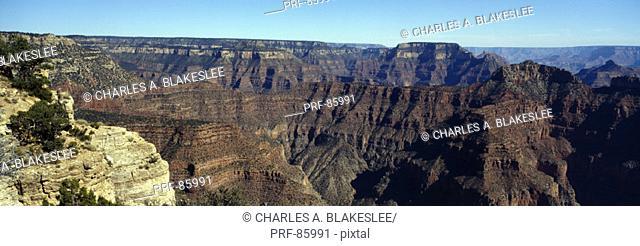 North Rim of Grand Canyon Grand Canyon National Park AZ