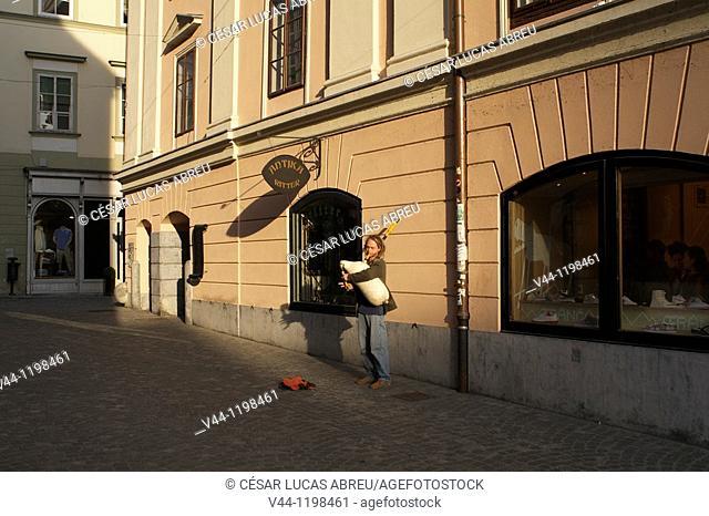 Ritter Antika Antique Shop. Ljubljana, Slovenia