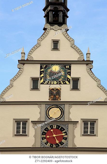Germany, Bavaria, Rothenburg ob der Tauber, Ratstrinkstube