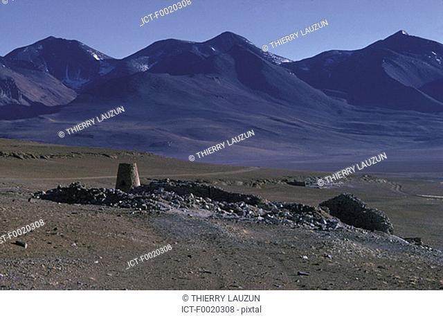 Bolivia, South Lipez desert, deserted mine