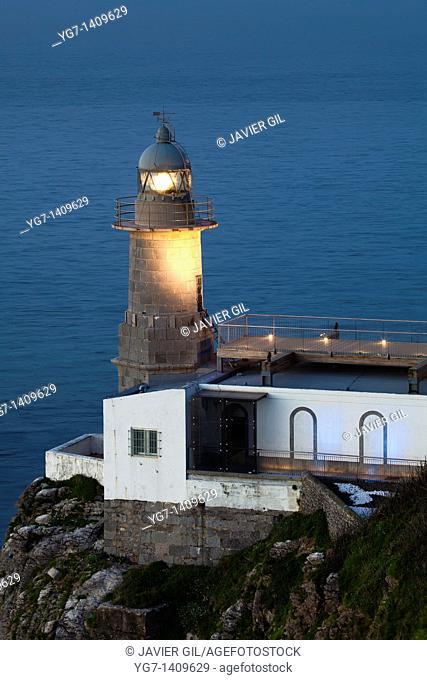 Lighthouse of Santa Catalina, Lekeitio, Bizkaia, Spain