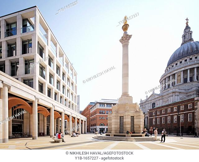 London Stock Exchange, Paternoster Square