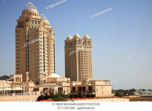 Qatar, Doha, West Bay, Four Seasons Hotel