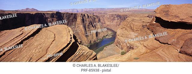 Horseshoe Bend Colorado River AZ