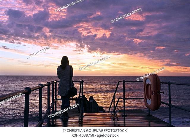 seaside resort,Aberystwyth,Wales,United Kingdom,Great Britain,Europe